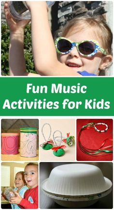 Fun Music Activities for Kids (from Fantastic Fun & Learning)
