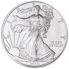 2013 Silver American Eagle - pure silver beauty