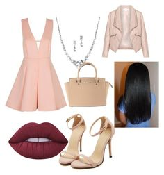 """""""Party #2"""" by reinaxmari ❤ liked on Polyvore featuring beauty, Michael Kors, Zizzi and Lime Crime"""