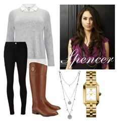 """""""Spencer Hastings inspired Outfit❤ hope you like it ❤"""" by ellakonst ❤ liked on Polyvore"""