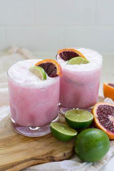 Coconut Blood Orange Margarita