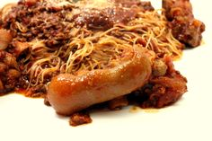 Ragu Bolognese with Pigs TRotters