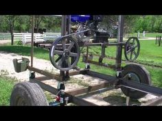 Interesting Things I Learned Building My Car-Wheel Bandsaw Mill. - YouTube