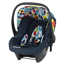 Cosatto Giggle Hold Group 0+ Baby Car Seat, Pitter Patter http://www.parentideal.co.uk/john-lewis--baby-car-seats.html
