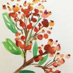 Daily Painting Challenge: 31 Flowers to Paint with Yao Cheng by Yao Cheng - Creativebug
