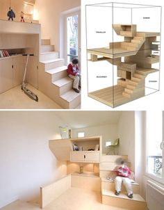 Tiny house design. So into the low impact that these smaller houses have on the enviroment and aspire to have something like this someday.