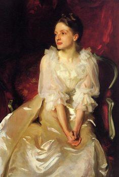 Portrait of Helen Duinham by John Singer Sargent.