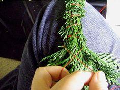 How to Make Cedar Smudge Wands
