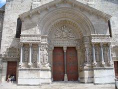 Pórtico de Saint-Trophime, Arles