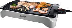 Steba Tischgrill VG 101, 2000 W, 2000 Watt für 59,99€. Große Grillfläche 43 x 30,5 cm, Low-Fat Funktion, Stufenlose Temperaturregelung bei OTTO