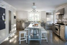 Image detail for -kitchen with its glazed concrete floor, clean feel and industrial ...