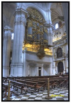 Granada, Órgano de la Catedral
