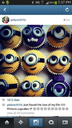 Future baby kirk will have a minion birthday!