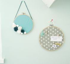 Pin Decor - Just another WordPress site Hand Embroidery Art, Embroidery Hoops, New Month, Diy Décoration, Handmade Decorations, Office Decorations, Crafty Craft, Diy Accessories, Handmade Art