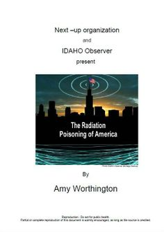 """""""The Radiation Poisoning of America"""", By Amy Worthington, November 17, 2007. Prior to 1996, the wireless age was not coming online fast enough, primarily because communities had the authority to block the siting of cell towers. But the Federal Communications Act of 1996 made it nearly impossible for communities to stop construction of cell towers """"even if they pose threats to public health & the environment. CLICK HERE: http://www.stayonthetruth.com/the-radiation-poisoning-of-america.php"""