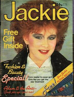 Big hair and bold make-up - Jackie Magazine March 1982 80's Fashion Pictures, 80s Theme, Girls Magazine, Childhood Memories, Childhood Toys, Never Grow Up, Teenage Years, Music Tv, Vintage Girls