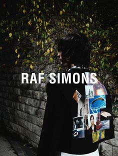 New fashion editorial menswear raf simons ideas Monochrome Fashion, Fashion Graphic, Fashion Prints, Urban Fashion, New Fashion, Fashion Art, High Fashion, Raf Simmons, Fashion Advertising