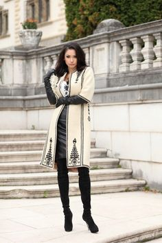 traditional romanian coat