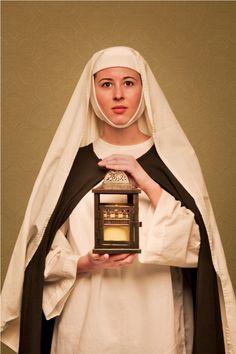 St. Catherine of Siena | http://www.saintnook.com/saints/catherineofsiena - Catherine of Siena