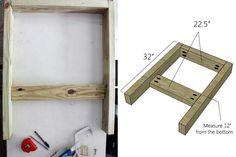 Assemble Armrest Frame