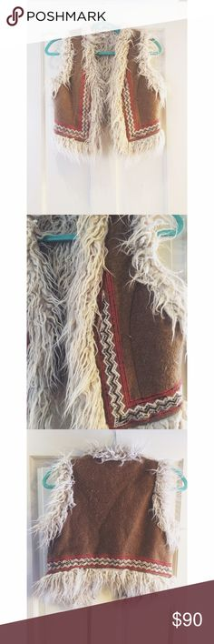 Native Style Free People Vest. Cropped Vest. Sits right above hips. Worn once by me, in the picture I posted! Free People Jackets & Coats Vests