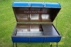 original barrel barbecue