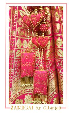Made in all colours, also customised as per your design, dm to order Saree Tassels Designs, Sari Blouse Designs, Arabian Mehndi Design, Wedding Card Design Indian, Wedding Lehenga Designs, Wedding Badges, Zardozi Embroidery, Bridal Outfits, Bridal Lehenga