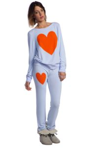Wildfox Couture Southern Heart Baggy Beach Jumper