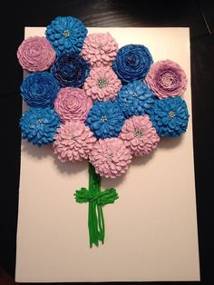 Flower bouquet of cupcakes
