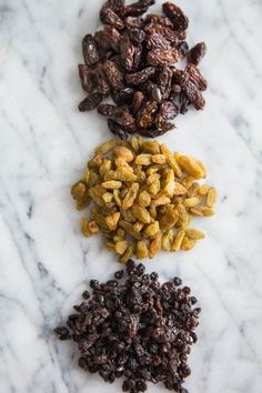 What's the Difference Between Raisins, Sultanas, and Currants? Up your knowledge on these baking basics. Rice Krispie Treats, Rice Krispies, Homemade Gummies, How To Make A Poached Egg, Making Baked Potatoes, Easy Quiche, Baking Basics, Chicken Bites, Farmhouse