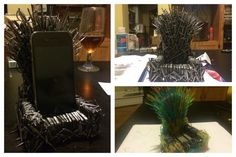 There are certain projects one must do. Picture of iThrone: Build an Iron Throne for your phone for less than $25