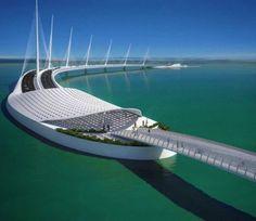 Calatrava's Sharq Crossing in Doha