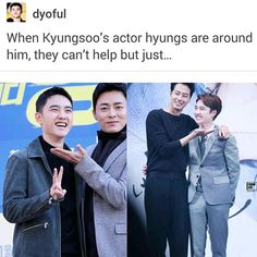 O (EXO) and his acting career Chanbaek, Exo Ot12, Kaisoo, K Pop, Funny Kpop Memes, Exo Memes, Kyungsoo, Chanyeol, Steven Universe