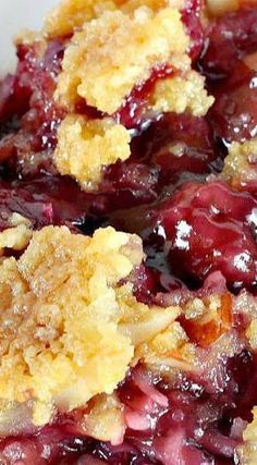 Cobbler TEXAS COBBLER ~~~ Spectacular dump cake-type dessert using blueberry and cherry pie fillings, crushed pineapple, almonds and coconut. Great for holiday entertaining and potlucks.Filling Filling may refer to: Dump Cake Recipes, Fruit Recipes, Desert Recipes, Sweet Recipes, Baking Recipes, Recipies, Sweet Cherry Recipes, Bisquick Recipes, Cherry Desserts