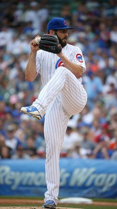 Jake Arrieta, Chicago Cubs starting pitcher.