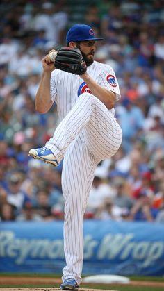 Jake Arrieta, Chicago Cubs starting pitcher.