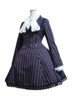Atelier Pierrot Pierrot Puella Skirt & Jacket Navy