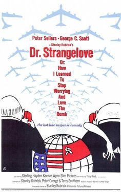 Dr. Strangelove Or: How I Learned To Stop Worrying And Love The Bomb (1964) - Peter Sellers DVD