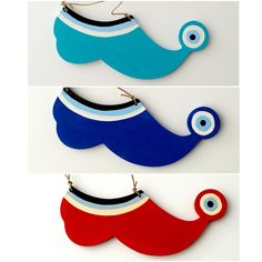"""Tsarouchi wooden shoe with evil eye """"to kick the bad luck!"""""""