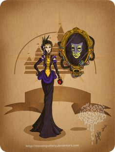 steampunk evil queen