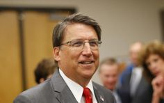 Pat McCrory, governor of North Carolina, attends a news conference at Reynolds American in Tobaccovi... - REUTERS/Chris Keane