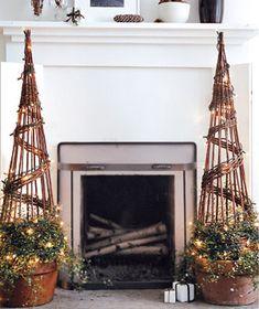 Twinkling topiaries christmas merry christmas christmas pictures christmas ideas happy holidays merry xmas