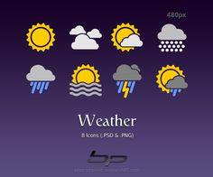 날씨 아이콘 Weather Icons Weather Icons by ~bharathp666 on deviantART