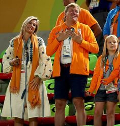 Royal Family Around the World: Dutch Royal Family Attends the Women's Balance Beam Final on day 10 of the Rio 2016 Olympic Games on August 15, 2016 in Rio de Janeiro, Brazil.