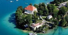 Enjoy the crystal clear water of Wörtersee and the lush green hillside at BIG BERRY destination! Empower your soul, mind and body. Photo by Kulterer Klagenfurt, European Holidays, Carinthia, Heart Of Europe, Clear Lake, Crystal Clear Water, Lush Green, Weekend Trips, Us Travel