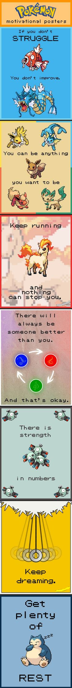 Motivation, brought to you by Pokemon.