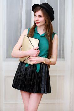 Wasze zielone stylizacje - Ariadna!  :).  Do #konkursu na #najlepsza #stylizacja zaprasza www.big-active! Dziewczęcy strój z nutką zieleni doda uroku każdej kobiecie :)