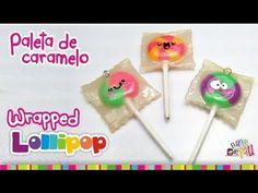 Wrapped Lollipop Polymer clay tutorial /  Paleta de Caramelo de arcilla polimérica