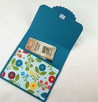 The Secret Life of Paper - gift card holder ideas