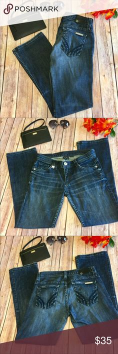 """⚡️⚡️ Armani Exchange Dark Bootcut Short Inseam 26 Armani Exchange Dark Bootcut. Short Size 0. Inseam Approx 26"""", Low Rise Approx 7"""", Waist Is Approx 13"""" Armani Exchange Jeans Boot Cut"""
